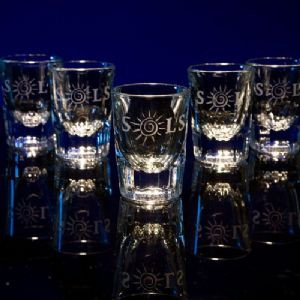 Shot Glass / Bar Shot Glasses - Personalized