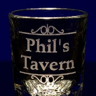 Shot Glass / Bar Shot Glass - Personalized