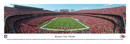 Kansas City Chiefs Panorama Print #2 (End Zone) - Unframed