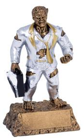 Business / Salesman Monster Trophy | Engraved Business Monster Award - 6.75 Inch Tall Business / Salesman Monster Trophy (Top Sales)