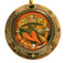 Chili Cook-Off World Class Medal - Gold, Silver or Bronze | Engraved Chili Competition Medallion | 3 Inch Wide - Bronze