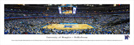 University of Memphis Panorama Print #1 (Basketball) - Unframed