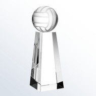 Crystal Volleyball Tower Trophy
