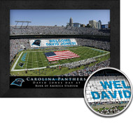Carolina Panthers Stadium Print - Personalized
