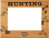 Bird Hunting Picture Frame - Personalized