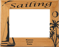 Sailing Picture Frame 2 - Personalized