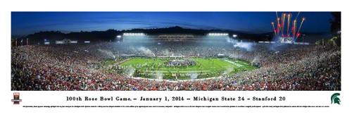 2014 Rose Bowl Panorama Print - Unframed
