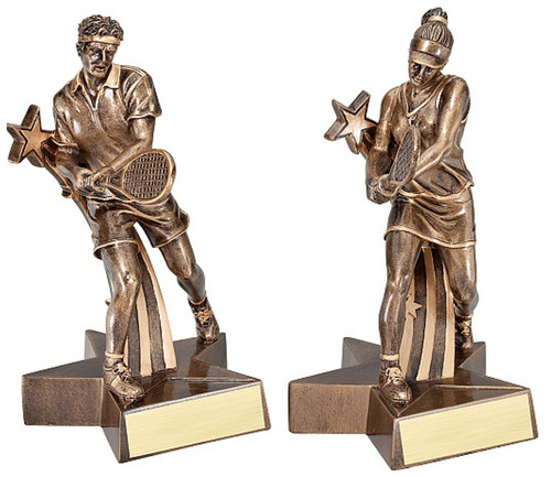 Tennis Superstars in Action Trophy – Male / Female