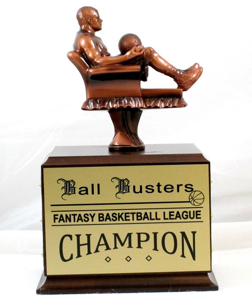 FANTASY BASKETBALL ARMCHAIR PERPETUAL TROPHY