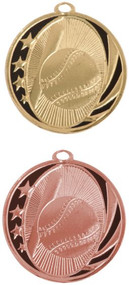 Cheerleading Glitter Medal - Gold or Silver | Engraved Spirit Sparkly Medallion | 2.5 Inch Wide - Clearance