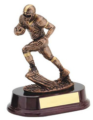Football Runner Bronze Trophy