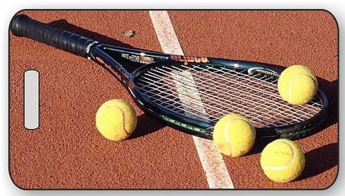 Tennis Luggage / Bag Tag G01
