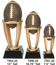 Football Tower Trophy | Engraved Football Award - 7.5, 10.75 or 13 Inch Tall