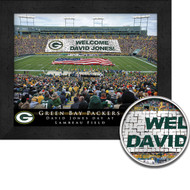 Green Bay Packers Stadium Print - Personalized