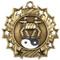 Martial Arts Ten Star Medal - Gold, Silver or Bronze | Karate 10 Star Medallion | 2.25 Inch Wide Martial Arts / Karate Ten Star Medal - Gold