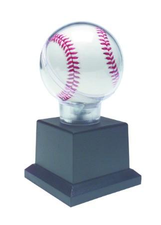 All Star Baseball Holder - Black Base - Personalized