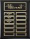 Ebony Piano-Finish Perpetual Plaque - Gold Engraving Plates