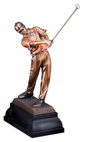 Golf Figure Swing Gallery Sculpture