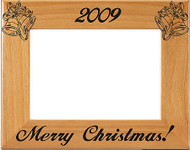 Christmas Bells Picture Frame - Personalized
