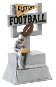 Fantasy Football Goalpost Trophy | FFL Award | 7 Inch Tall
