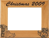 Christmas Toys Photo Frame - Personalized