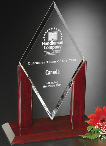 Quantum Crystal Corporate Award - 3 sizes available