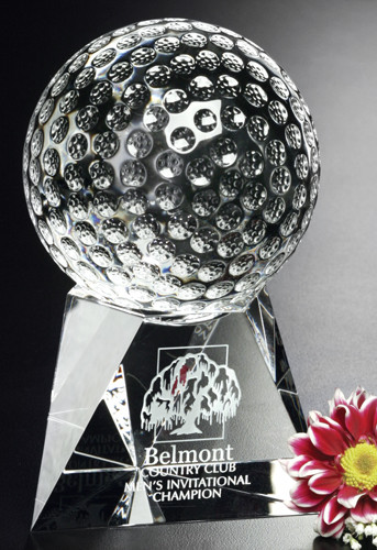 Triad Crystal Golf Corporate Award