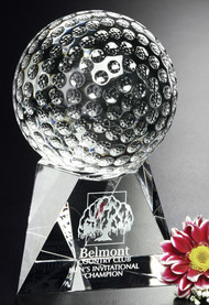 Triad Crystal Golf Corporate Award