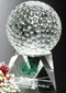 Triad Crystal Golf Corporate Award with Colorfill