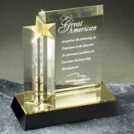 Shooting Star Tower Acrylic Award - Acrylic Plaque