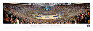 Brigham Young University Panorama Print #3 (Basketball) - Unframed