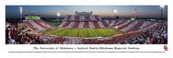 University of Oklahoma Panorama Print #4 (50 Yard) - Unframed