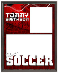 Soccer Memory Mate Plaque 2 - Personalized