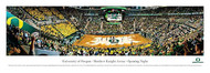 University of Oregon Panorama Print #3 (Basketball) - Unframed