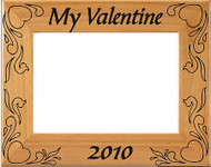 My Valentine Picture Frame - Personalized