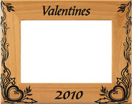 Valentine's Day Picture Frame - Personalized