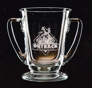 "Regatta Cup Crystal Corporate Award - 6"" & 8"" - Engraved"