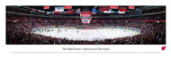 University of Wisconsin Panorama Print #2 (Hockey) - Unframed