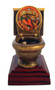 Chili Cook-Off Toilet Bowl Trophy    Last Place Loser Award   Golden Throne Prize   5 Inch Tall