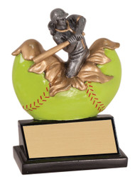 Softball Xploding Trophy