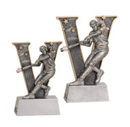 """Baseball """"Action"""" V Series Resin Trophy 