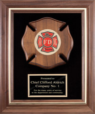 Fireman - American Tribute Framed Plaque