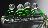 Golf Crystal Foursome Award