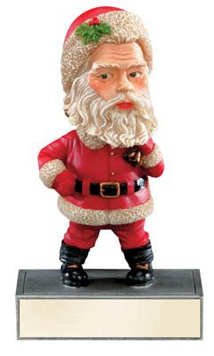 Santa Bobblehead Award