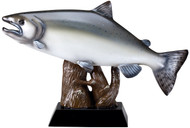 Salmon Fish Resin Sculpture / Trophy