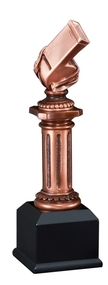 Whistle Pedestal Sculpture Trophy