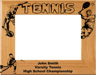 Tennis Male Picture Frame  - Personalized