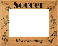 Soccer Male Picture Frame