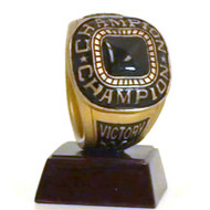 Championship Ring Trophy | Champion Ring Award | 4 Inch Tall