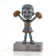 """Rock 'n Bop"" Cheerleader Bobblehead Trophy"